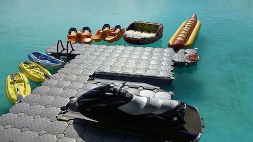 Dock Dock Gray Dock - Minnesota Floating Modular Docks and